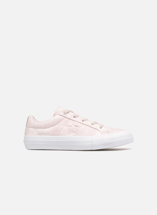 Deportivas Converse One Star Ox Peached Wash Rosa vistra trasera