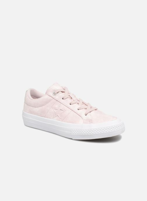 Baskets Converse One Star Ox Peached Wash Rose vue détail/paire