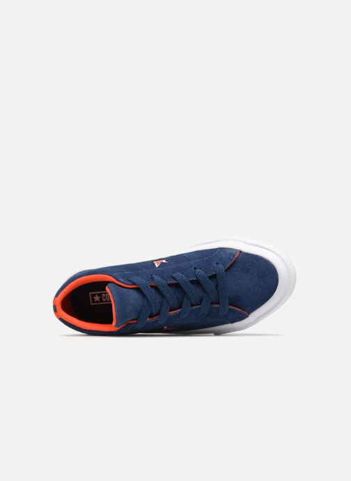 Trainers Converse One Star Ox Molded Varsity Star Blue view from the left