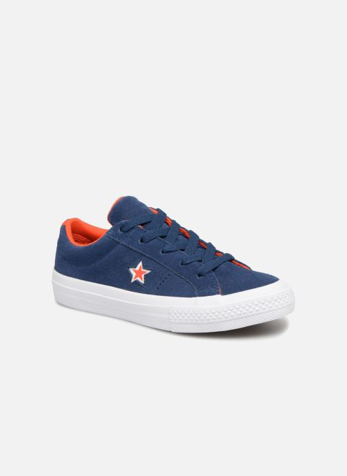 Trainers Converse One Star Ox Molded Varsity Star Blue detailed view/ Pair view