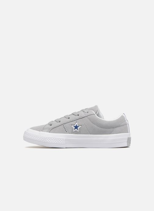 Baskets Converse One Star Ox Molded Varsity Star Gris vue face