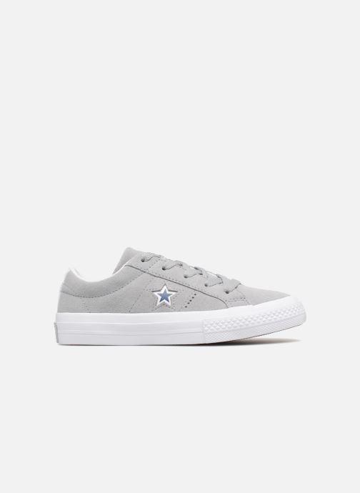 Sneaker Converse One Star Ox Molded Varsity Star grau ansicht von hinten