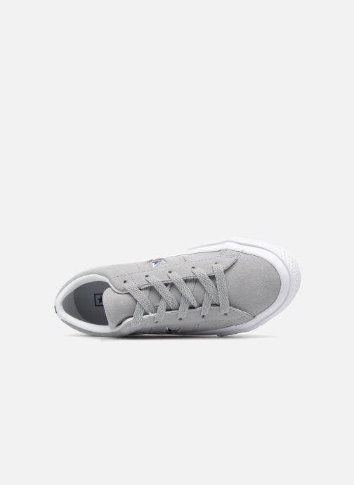 Sneaker Converse One Star Ox Molded Varsity Star grau ansicht von links