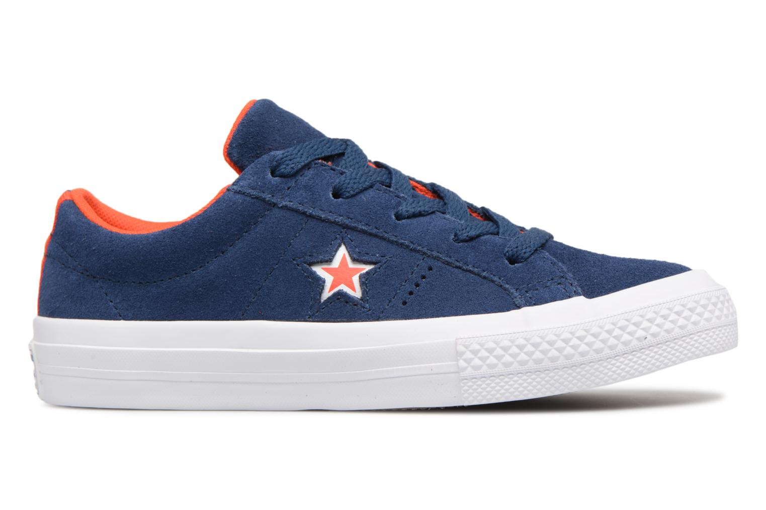 Sneakers Converse One Star Ox Molded Varsity Star Blauw achterkant