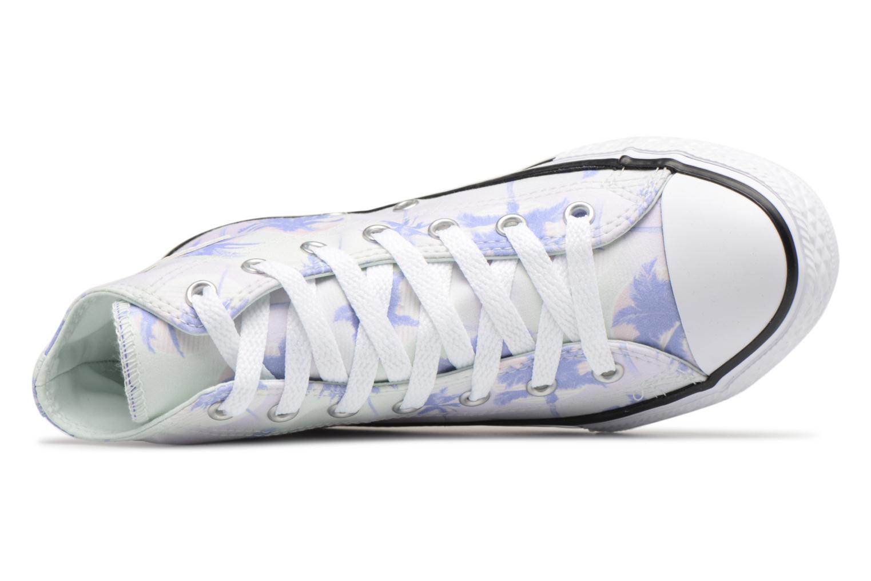 Sneakers Converse Chuck Taylor All Star Hi Palm Trees Multicolore immagine sinistra