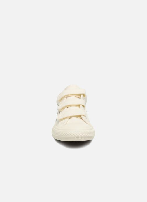 Baskets Converse Star Player EV 3V Ox March Canvas Blanc vue portées chaussures