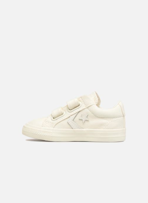 Sneakers Converse Star Player EV 2V Ox March Canvas Wit voorkant