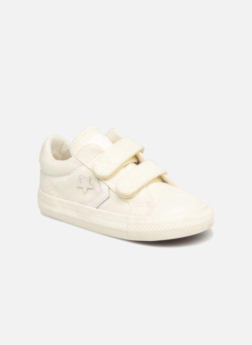 Sneakers Converse Star Player EV 2V Ox March Canvas Hvid detaljeret billede af skoene