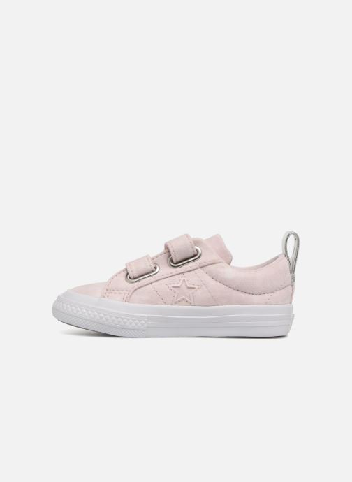 Sneakers Converse One Star 2V Ox Peached Wash Roze voorkant