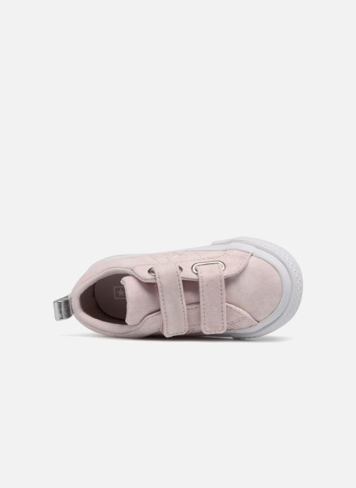 Sneakers Converse One Star 2V Ox Peached Wash Rosa immagine sinistra