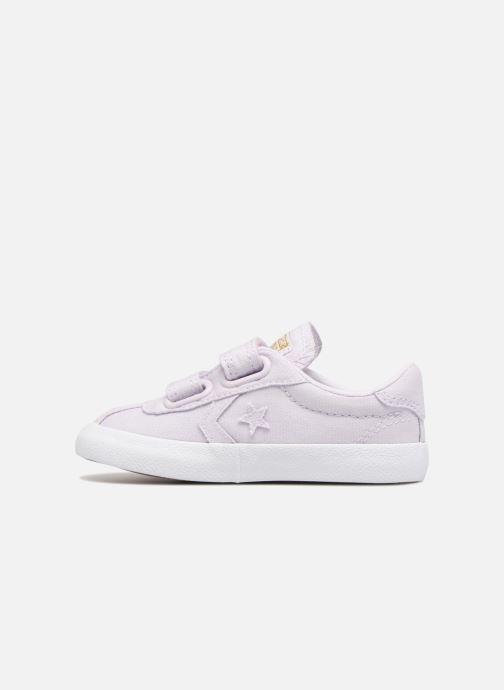 Sneakers Converse Breakpoint Ox Spring Canvas Paars voorkant