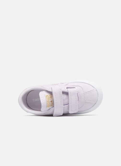 Baskets Converse Breakpoint Ox Spring Canvas Violet vue gauche