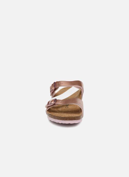 Sandales et nu-pieds Birkenstock Salina Birko Flor Or et bronze vue portées chaussures
