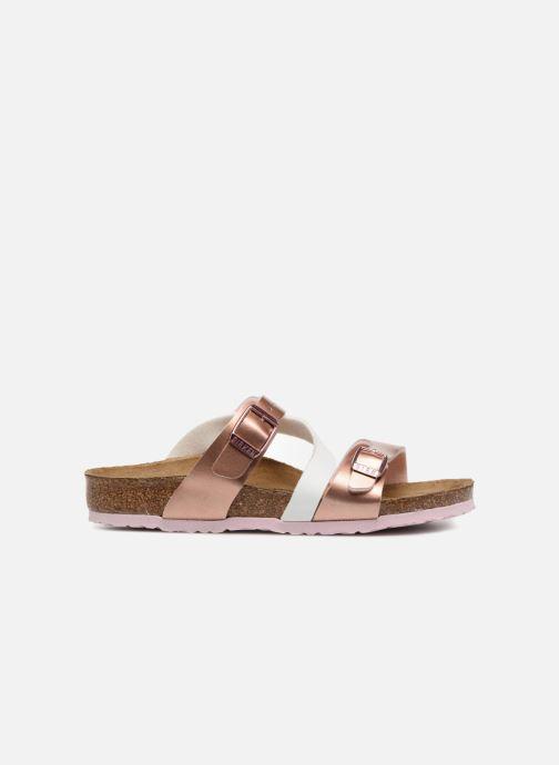Sandales et nu-pieds Birkenstock Salina Birko Flor Or et bronze vue derrière