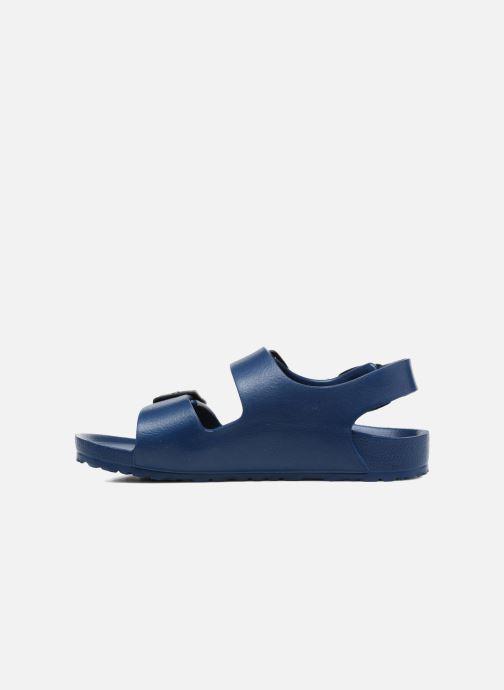 Sandales et nu-pieds Birkenstock Milano EVA Bleu vue face