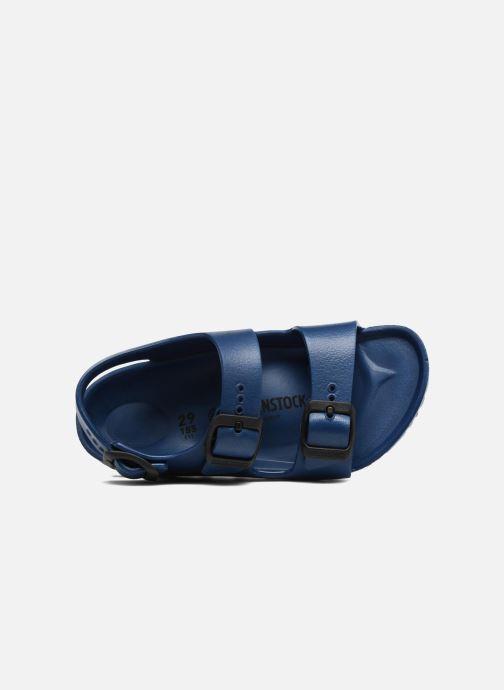 Sandalen Birkenstock Milano EVA blau ansicht von links