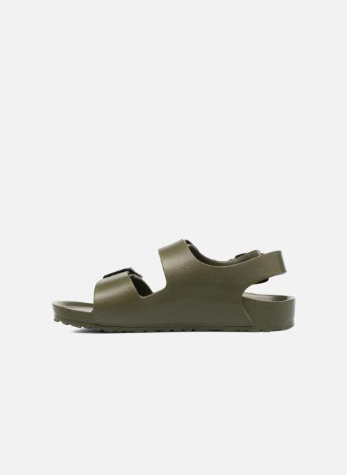 Sandales et nu-pieds Birkenstock Milano EVA Vert vue face
