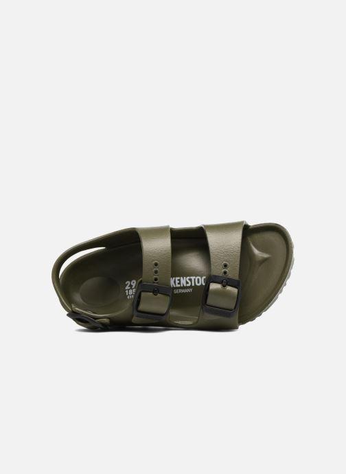 Sandales et nu-pieds Birkenstock Milano EVA Vert vue gauche