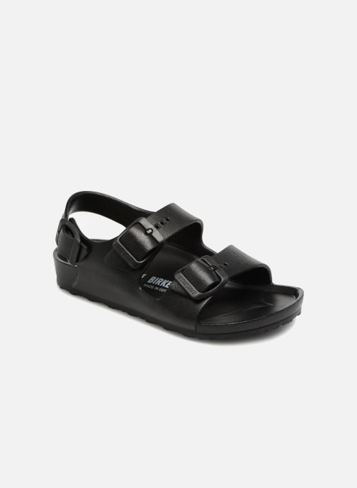 Sandaler Birkenstock Milano EVA Sort detaljeret billede af skoene