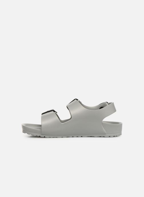 Sandales et nu-pieds Birkenstock Milano EVA Gris vue face