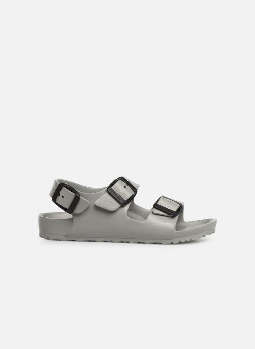 Sandales et nu-pieds Birkenstock Milano EVA Gris vue derrière