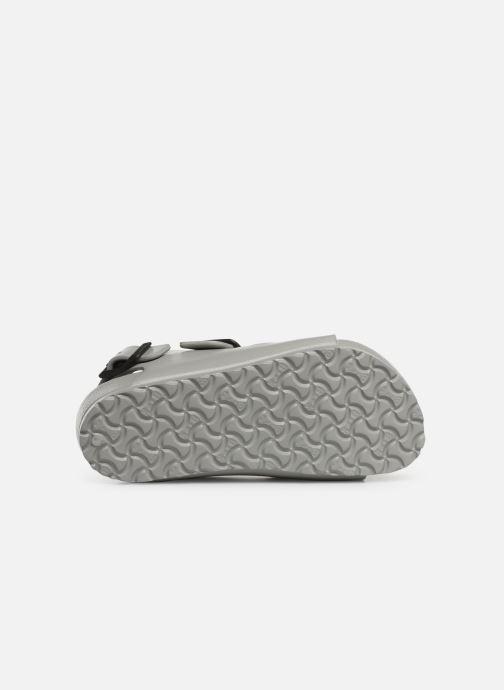 Sandales et nu-pieds Birkenstock Milano EVA Gris vue haut
