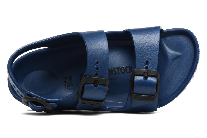 Sandales et nu-pieds Birkenstock Milano EVA Bleu vue gauche