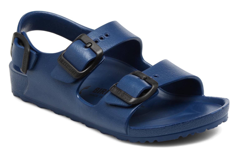Sandales et nu-pieds Birkenstock Milano EVA Bleu vue détail/paire