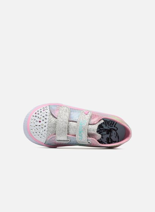 Sneakers Skechers Shuffles Ms. Mermaid Multicolore immagine sinistra