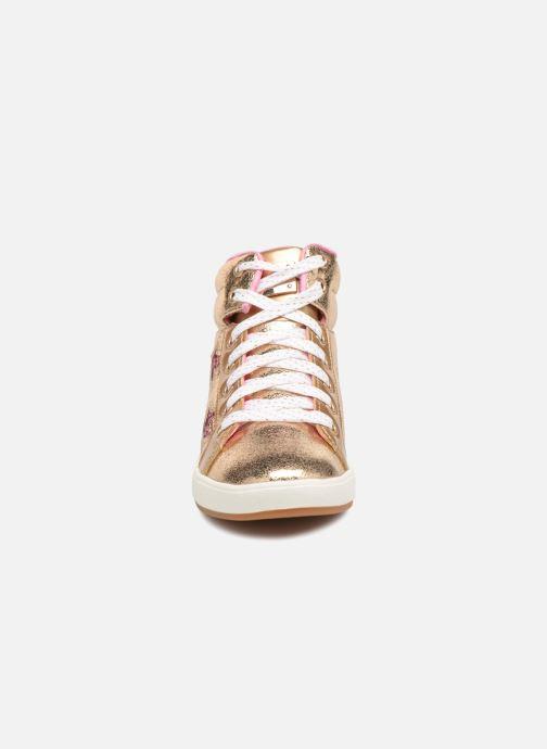 Baskets Skechers Shoutouts Starry Shine Or et bronze vue portées chaussures