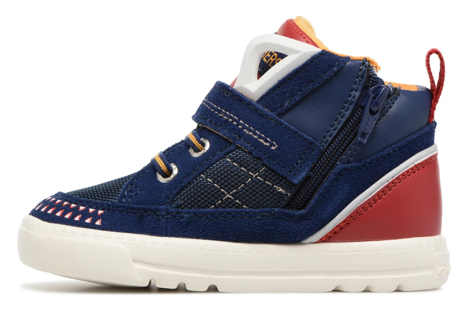Trainers Skechers Lil Rad Monstroid Blue front view