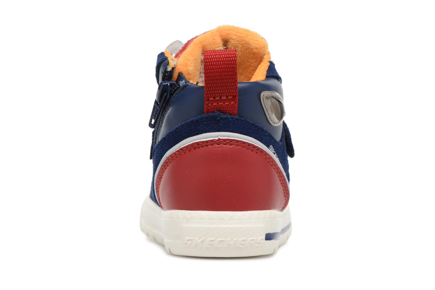 Trainers Skechers Lil Rad Monstroid Blue view from the right