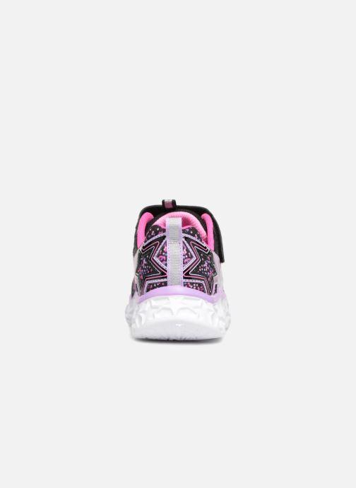 Sneaker Skechers Galaxy Lights schwarz ansicht von rechts