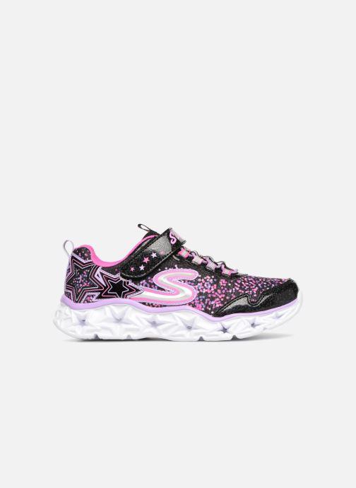Sneaker Skechers Galaxy Lights schwarz ansicht von hinten