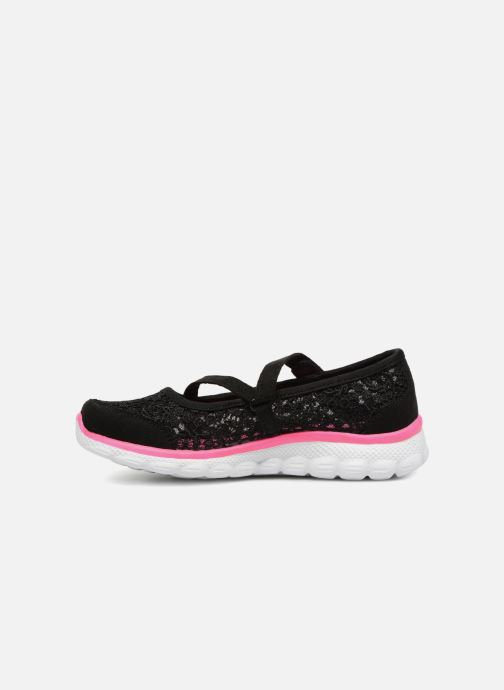 Ballet pumps Skechers Skech Flex 2.0 Comfy Crochetes Black front view