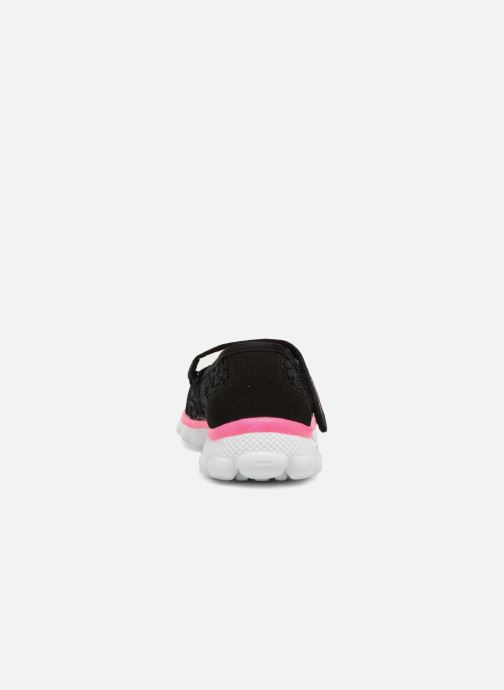 Ballet pumps Skechers Skech Flex 2.0 Comfy Crochetes Black view from the right
