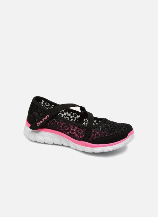 Ballet pumps Skechers Skech Flex 2.0 Comfy Crochetes Black detailed view/ Pair view