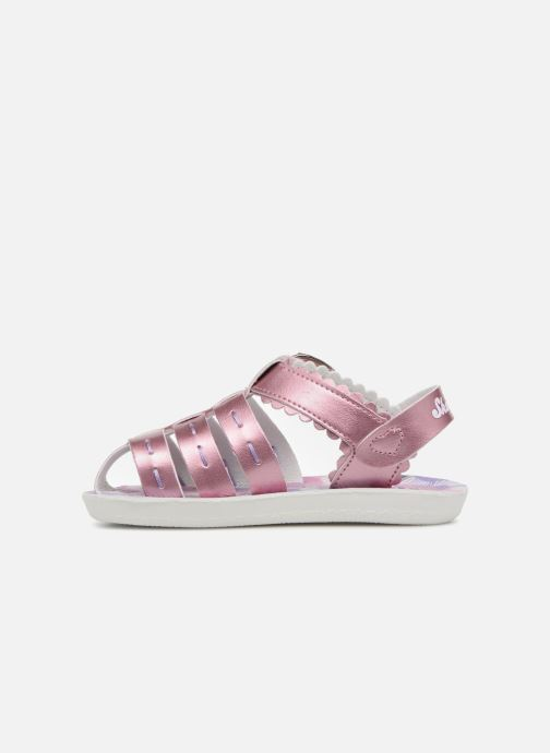 Sandales et nu-pieds Skechers Buttercups Gladdy Girl Rose vue face