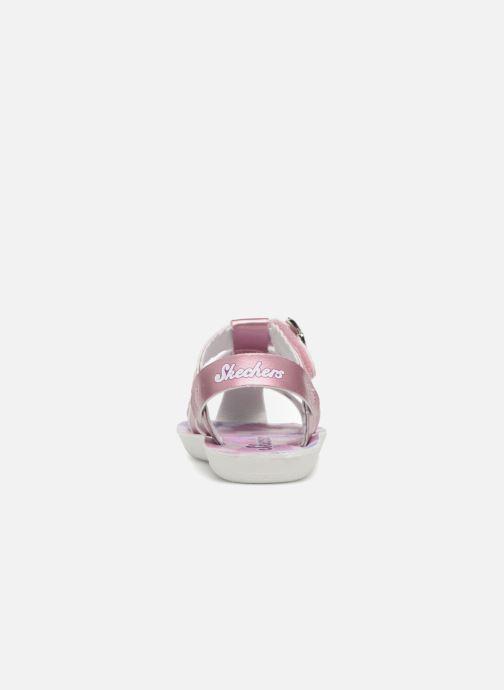 Sandales et nu-pieds Skechers Buttercups Gladdy Girl Rose vue droite