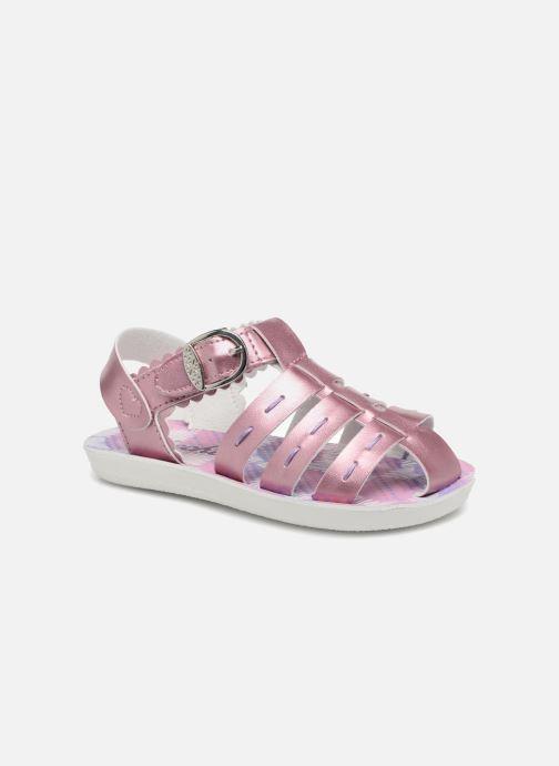Sandalias Skechers Buttercups Gladdy Girl Rosa vista de detalle / par