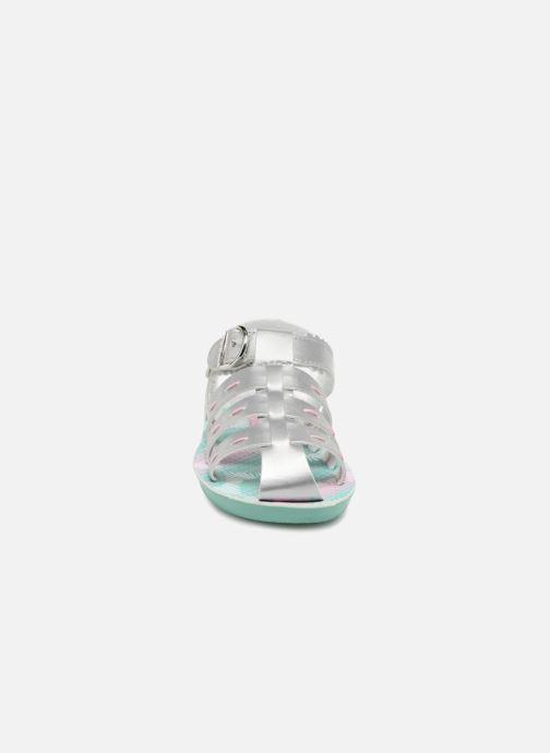 Sandales et nu-pieds Skechers Buttercups Gladdy Girl Argent vue portées chaussures