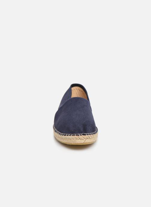 Espadrilles La maison de l'espadrille Espadrille 1011 H Bleu vue portées chaussures