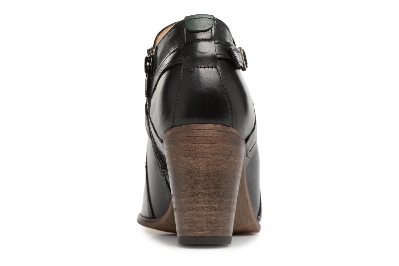 Bottines et boots Kickers DATA Noir vue droite