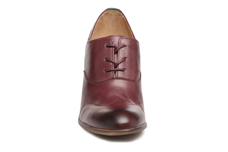 Chaussures à lacets Kickers DATING Bordeaux vue portées chaussures