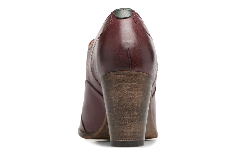 Chaussures à lacets Kickers DATING Bordeaux vue droite