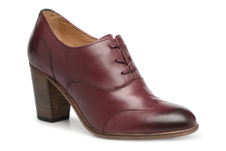 Chaussures à lacets Kickers DATING Bordeaux vue détail/paire