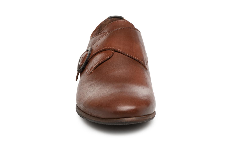 Chaussures à lacets Kickers GAMBETTA Marron vue portées chaussures