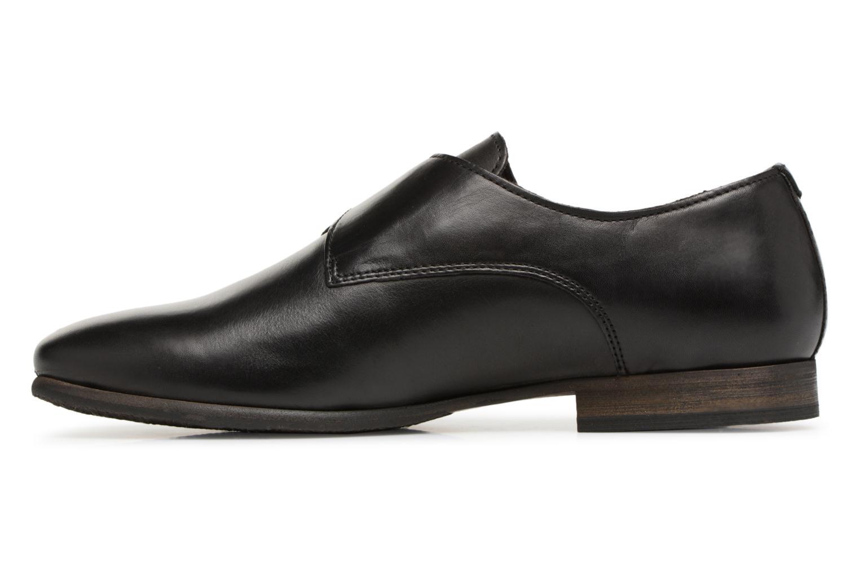 Chaussures à lacets Kickers GAMBETTA Noir vue face