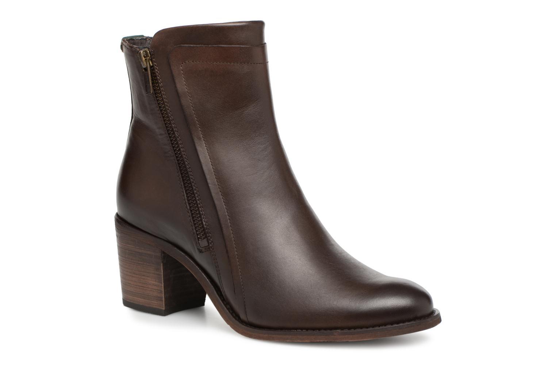 Bottines et boots Kickers JESSY Marron vue détail/paire