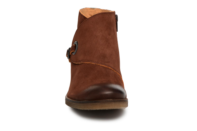 Bottines et boots Kickers MISS Marron vue portées chaussures